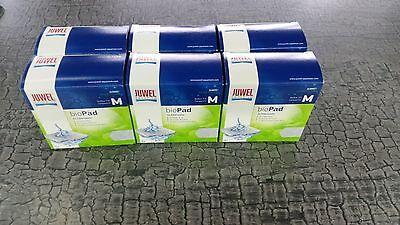 Flower Compact (Juwel Filterwatte Bioflow 3.0 Compact / BioPad M 6 x 5er Filtervlies (30 Stück))
