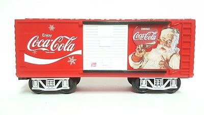 Used, Lionel Coca-Cola BOXCAR Holiday G-Gauge ADD ON Replace COKE Train Car 7-11488 for sale  Shipping to Canada
