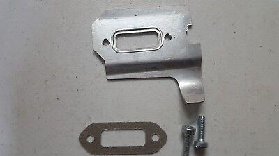 Muffler Cooling Plate W Gasket Screws Fits Stihl Ts410 Ts420 Ts480 Ts500