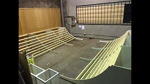 Skate Mini ramp - half pipe. Collingwood Yarra Area Preview