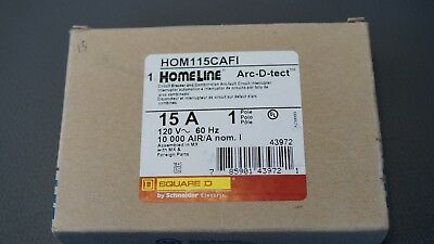 Hom115cafi Square D Combination Arc-fault Circuit Interrupter New
