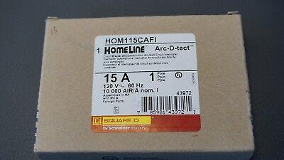 Hom115cafi Square D Combination Arc-fault Circuit Interrupter New