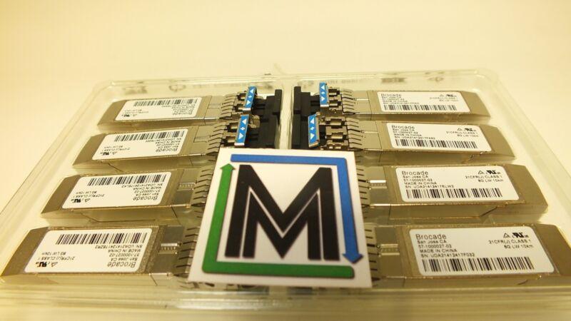 Brocade 57-1000027-01XBR-000172XBR-000153 8 Pack 8GB SFP+ LW 10km Transceiver