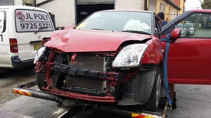 Suzuki Swift 2009 Hatchback Red Smithfield Parramatta Area Preview