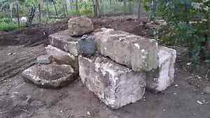 8 large sandstone rocks bolders retainer walls Narangba Caboolture Area Preview