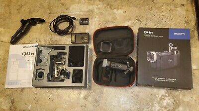 ZOOM Q4N PROFESSIONAL 2K VIDEO RECORDER  SUPER BUNDLE PACKAGE
