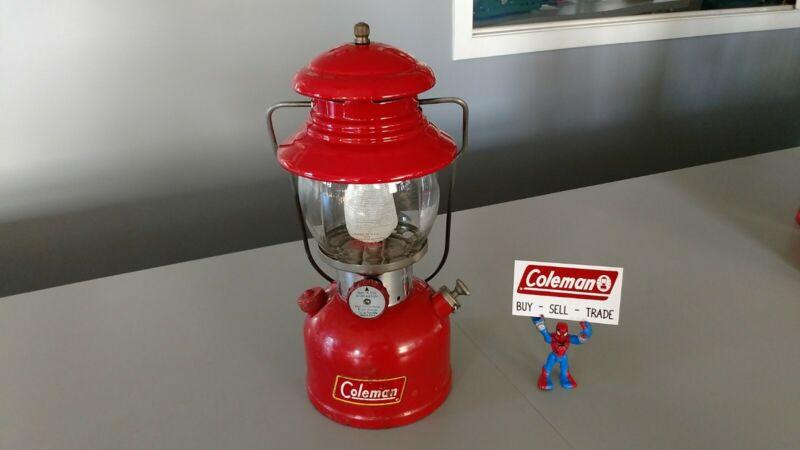 Coleman Lantern 200A  Barn Find Nice User 12/1960