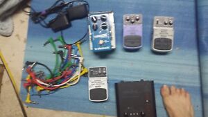 Pedals and cables