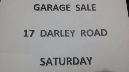 GARAGE SALE - 17 Darley Road, MANLY - Sat 25 Nov 10am - 4pm