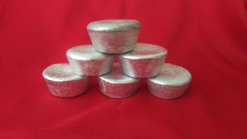 Aluminum Ingot for Casting Total of 6 half pound units. Aluminium element