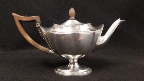 Antique English London Sterling Silver Teapot William Gibson John Langman 1898