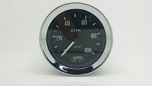 Smiths Mechanical Oil Pressure Gauge 0-100 PSI PG1310-00C