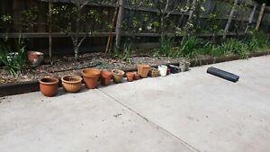 Garden pots located millgrove