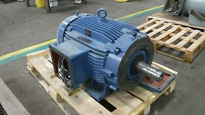 100 Hp Weg Ac Electric Motor 1800 Rpm Fr 4045tc Tefcbb Exp 208-230460 V New