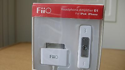 "Fiio Headphone Amplifier E1 for Ipod ""NEW"""