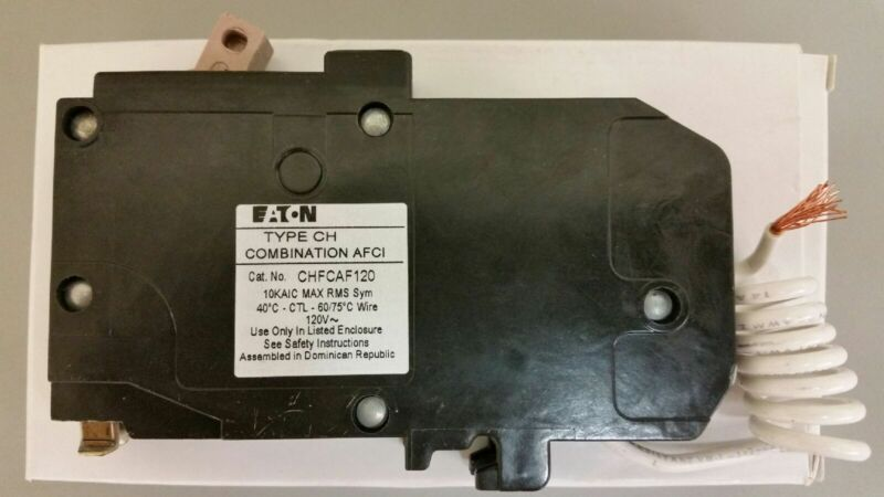 NEW Eaton/Cutler Hammer 20A Type CH Combination AFCI Circuit Breaker CHFCAF120