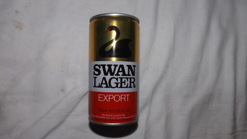 Vintage Swan Lager Export Beer Can Steel am
