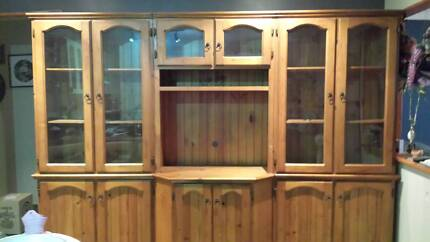 TV Unit + 2 Cabinets See Photo's(can fit Flat Screen TV) St Clair Penrith Area Preview