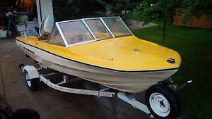15 Foot Vanguard Boat with 65 hp Suzuki Outboard