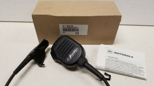 Motorola NMN6193B Remote Speaker Mic w Belt Clip For HT1000 XTS3000 XTS5000