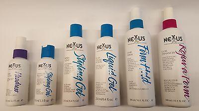 Nexxus SALONE Capelli Cura e prodotti di styling,gel per capelli,Holding SPRAY +
