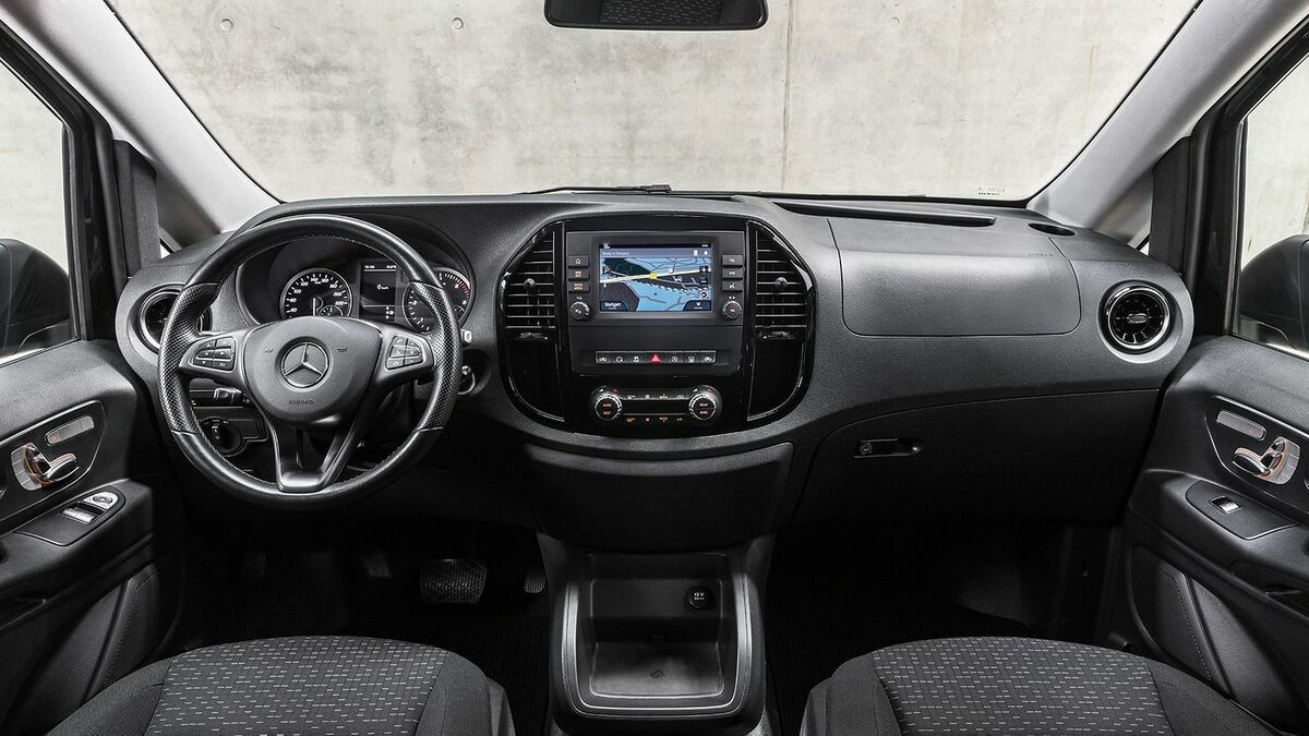 Mercedes-Benz Vito Cockpit