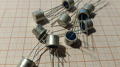 10pcs Asy37s  Ac128 - Germanium Pnp Transistor - Made In Poland