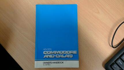 Blank VL Commodore Owners Handbook/Manual