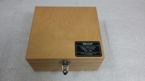 Siecor FBC-005 High Precision Optical Fiber Cutter / Cleaver  Parts. (No Cutter)
