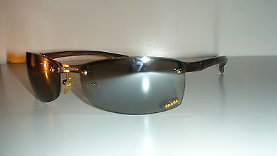 PRADA  UNISEX  SUNGLASSES  SGD/BRN 62[]18 130  ONLY PAIR ONLINE RARE!! CIRCA (Ladies Sunglasses Online)