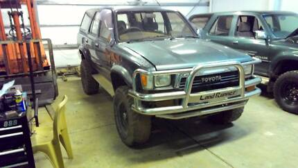 WRECKING 91 TOYOTA HILUX SURF AUTO 198000 KMS 2.4 TURBO DIESEL Holden Hill Tea Tree Gully Area Preview