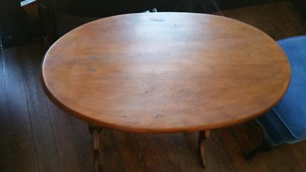Side Sofa Table Victorian Kauri Occasional
