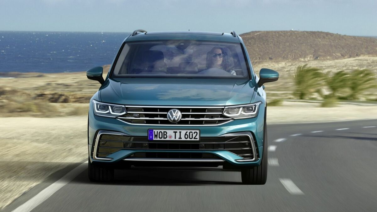 2020 VW Tiguan Configurations