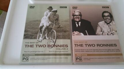 The Two Ronnies Vol 1 and 2 Wembley Cambridge Area Preview