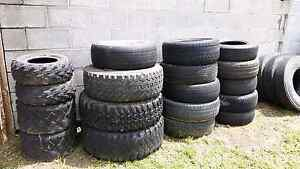 Giveaway 40 tyres truck .4x4.car. Brighton Brighton Area Preview