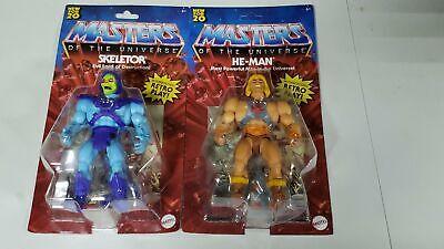 Masters Of The Universe Origins Lot Skeletor He-Man MOTU Retro Mattel 5.5  - $48.95
