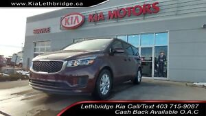 2018 Kia Sedona LX+ CLEAN CARFAX, UNDER 51,000, TOUCHSCREEN,...