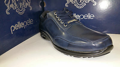 Pelle Pelle Black / Brown / Navy Leather Lace Up Dress Shoes Size 7.5-12