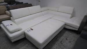 NEW ECLIPSE WHITE CORNER SOFA WTIH OTTOMAN NORMALLY $2139 Richmond Yarra Area Preview