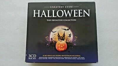 Greatest Ever! Halloween The Definitive Collection (3 CD Box Set 2014) ()