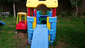 Slide gym cubby house Guildford Parramatta Area Preview