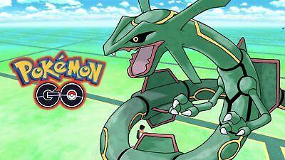 Pokemon Go RAYQUAZA Pokemon Trainer Account! 100% BAN/HACK (Ban Account)