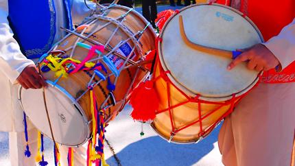 Add a Dhol Drum beat!  DJ party night