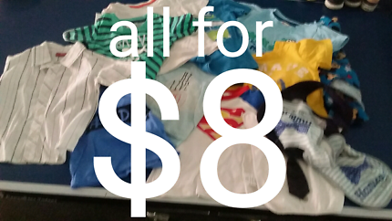 BOYS SIZE 1 CLOTHING - ALL FOR $8!!