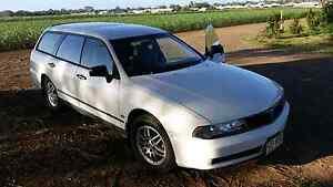 Mitsubishi Magna Wagon 2001 Southbank Melbourne City Preview