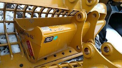 New Teran 48 Cat 416 428 Grading Ditching Bucket 50 45mm Pins