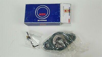 2 X Nsk Bearing Unit - Ucfl205-16s N Av2s - 2 Bolt Pillow Block Flange 1 Shaft