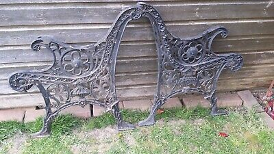 Bench ends Lovely Style Cambridgeshire vintage needs painting