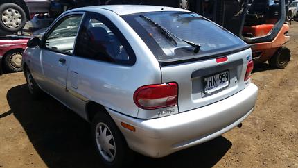 Ford festiva 2 door hatch silver wrecking