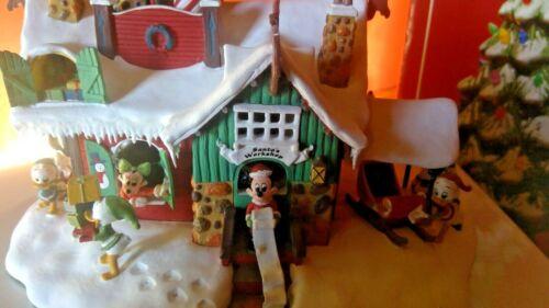 Vintage Disney Winter Wonderland Christmas Santa